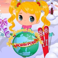 Baby Around The World North Pole