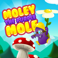 Moley The Purple Mole