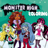 Monster High Coloring
