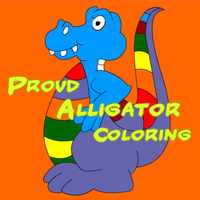 Proud Alligator Coloring