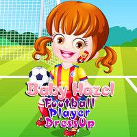 Baby Hazel Football Player Dressup