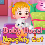 Baby Hazel Naughty Cat