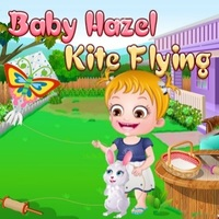 Baby Hazel Kite Flying