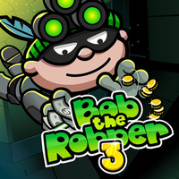 Tendencias de los juegos,Bob The Robber 3 is one of the Robber Games that you can play on UGameZone.com for free. Bob is up to his old tricks again but this time he's got some brand new gizmos! Help him bust into some secret labs and other heavily secured buildings in this mobile game. He'll need you to look out for him while he avoids scientists, guards, security cameras and more.