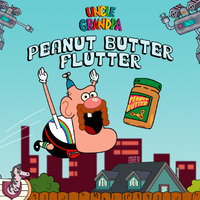Uncle Grandpa Peanut Butter Flutter