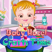 Baby Hazel Crafts Time