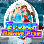 Frozen Makeup Prom