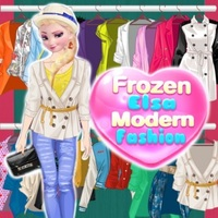 Frozen Elsa Modern Fashion