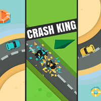 Crash King,Crash King is one of the Tap Games that you can play on UGameZone.com for free. Avoid the collisions and reach the highest score in the game Crash King! Click when the cars are coming through each other and gain a point for every lap you made. You just have to use your mouse to swap when they are on the same line. Have fun!