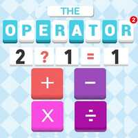 The Operator 2,The Operator 2 is one of the Math Games that you can play on UGameZone.com for free. Are you good at doing a sum in your head? Come and practice your mental arithmetic to choose suitable operators. Tap the right operational symbol button! Have a try! Use Mouse to play.