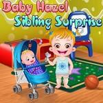 Baby Hazel Sibling Surprise