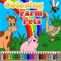 Permainan Baru Terbaik,Coloring Farm Pets is one of the Coloring Games that you can play on UGameZone.com for free. Choose colors and design your colorful picture with funny farm animals. Play your art talent! Create a work of art! Enjoy and have fun!