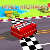 Tendances des jeux,Pixel Highway is one of the Driving Games that you can play on UGameZone.com for free. In this game, you can speed up your pixel car on a busy highway. On your way you must avoid collision with other cars. Use arrow keys to control the car. Enjoy and have fun!