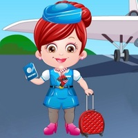 Baby Hazel Air Hostess Dress Up