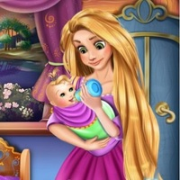 Trendy gier,Rapunzel Baby Caring is one of the Princess Games that you can play on UGameZone.com for free. Rapunzel's baby is crying! Help Rapunzel care her baby! You need to feed the little baby with the milk bottle and wrap her in warm blankets, then use a cute toy to calm her down and continue feeding her until she feels relaxed. At last, please decorate the baby room to make it lovely and beautiful!