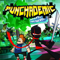 Games Trends,Punchademic is one of the Ninja Fighting Games that you can play on UGameZone.com for free. What the punch! Puncher is attacking the real world and McFist unleashed bots...soon Norrisville will be permanently pixelated without your help! Let the punch-down begin!