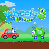 Permainan Baru Terbaik,Wheely 8 is one of the Wheely Games that you can play on UGameZone.com for free.  Wheely went on a date with his girlfriend Jolie. They decided to go picnic. They had a wonderful time until suddenly a UFO landed behind them. There were aliens inside that were lost and need help in finding their planet. Wheely sets out on his adventure to find the map to their planet.