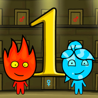 Populaire Jeux,Fireboy And Watergirl 1: The Forest Temple is one of the Adventure Games that you can play on UGameZone.com for free. Help Fireboy and Watergirl through the maze and collect the diamonds on their way to the exits. The A, W, D keys move Watergirl and the left, up, right keys move Fireboy. Since fire and water don't mix, be sure to not let Fireboy go in the water lakes and don`t let Watergirl go in the fire lakes. And keep them both out of the green lakes.