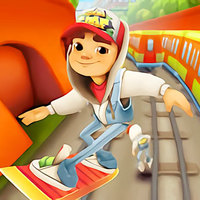 Popular Free Games,Subway Surfers is one of the Parkour Games that you can play on UGameZone.com for free. Subway Surfers is a classic endless runner game created by Kiloo and Sybo. You can play Subway Surfers for free online in your browser. In Subway Surfers you surf the subways and try to escape from the grumpy Inspector and his dog. You'll need to dodge trains, trams, obstacles, and more in order to go as far as you can in this endless running game. Collect coins to unlock power-ups and special gear to help you go further every time in Subway Surfers.