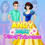Andy Cosplay Disney Princesses