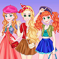 Тенденции игр,Princess Paris Trip is one of the Dress Up Games that you can play on UGameZone.com for free. Princesses, Elsa, Anna, Merida, and Rapunzel, have arrived in Paris, it's a lovely and romantic city. Help the four girls pick some Parisian outfits and Then they'll visit the city! What a surprise!