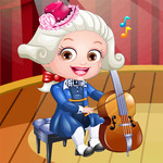 Baby Hazel Musician Dress Up