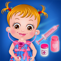 Trendy gier,You can play Baby Hazel Doctor Play on UGameZone.com for free.  Baby Hazel is on the way to a mall for shopping with her mother. She buys a doctor playset. But suddenly her teddy gets injured while playing. Please help Hazel to be a good doctor and treat her teddy with medicines and love.