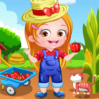 Baby Hazel Farmer Dress Up