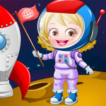 Baby Hazel Astronaut Dress Up