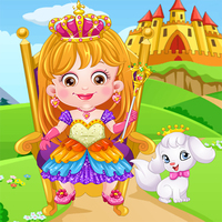 Baby Hazel Royal Princess Dress Up