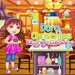 Dora Christmas Kitchen Cleaning