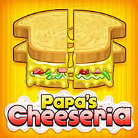 Games Trends,Papa's Cheeseria is one of the Restaurant Games that you can play on UGameZone.com for free. Make their custom grilled cheese sandwich. Give it to the customer. If it's done correctly, you get a big tip! Earn new clothes and customize your lobby. Make Papa's Cheeseria the greatest grilled cheese restaurant ever! It gets hard when there is more than one customer to deal with at once!